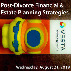 Skylark Spacewoman, vesta flyer nd text post-divorce financial & Estate planning Strategies